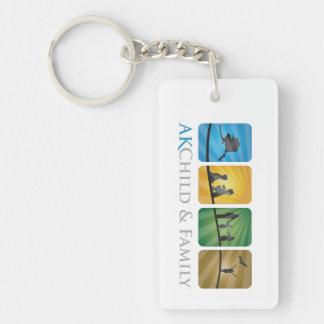 AK Child & Family Keychain