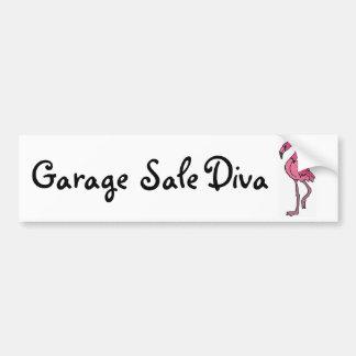 AK- Garage Sale Diva Bumper Sticker