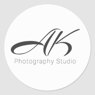 AK Photography Sticker