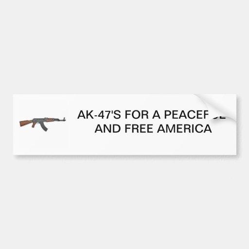AK STICKER BUMPER STICKER