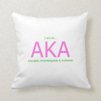 AKA Description Cushion