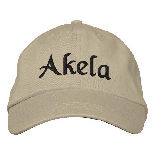 Akela Hat Embroidered Hat