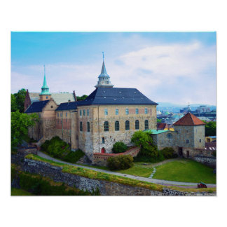 Akershus Fortress in Oslo, Norway Poster