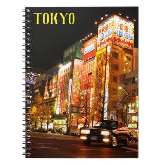 Akihabara (Electric City) in Tokyo, Japan Notebook