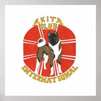 akita club international poster