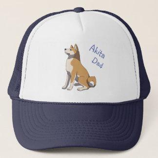 """""""Akita dad"""" more trucker cap"""