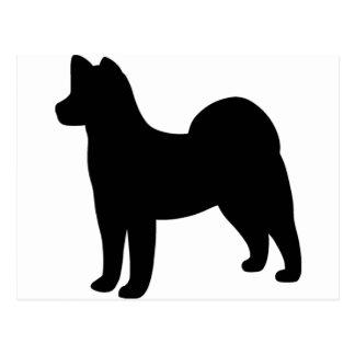 Akita Dog Postcard