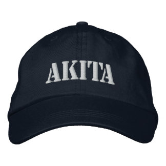 AKITA EMBROIDERED HAT
