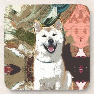 Akita Inu Dog Coaster