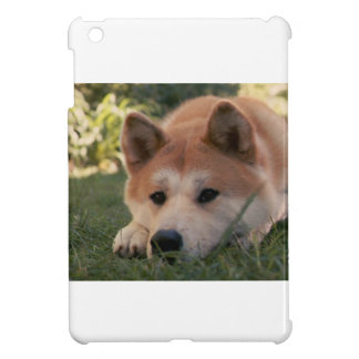 Akita Inu Dog Deep Thoughts iPad Mini Covers