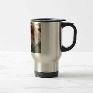 Akita Inu Dog Deep Thoughts Travel Mug