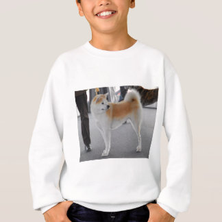 Akita Inu Dog In A Dog Show Sweatshirt