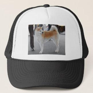 Akita Inu Dog In A Dog Show Trucker Hat