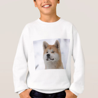 Akita Inu Dog Looking Serious Sweatshirt