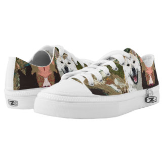Akita Inu Sneakers Low Top Shoes