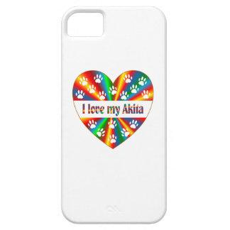 Akita Love iPhone 5 Cases