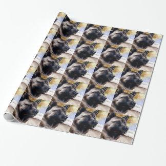 Akita Wrapping Paper