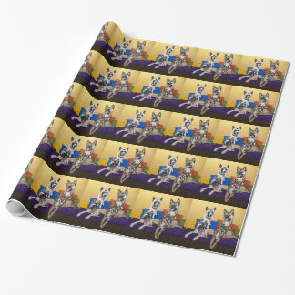 Akitas Wrapping Paper
