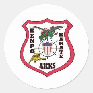 AKKSLogo.84141816_std Classic Round Sticker