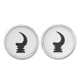 AKOBEN | War Horn | Symbol Of Vigilance Cuff Links