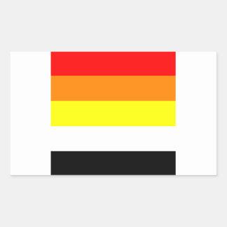 akoisexual rectangular sticker