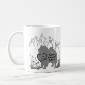 AKR Logo - Grey - Coffee & Kees Fur Coffee Mug