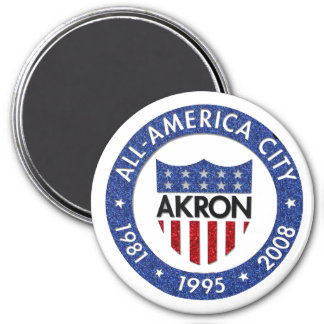 Akron all America City Magnet