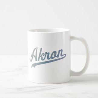 Akron Baseball mug