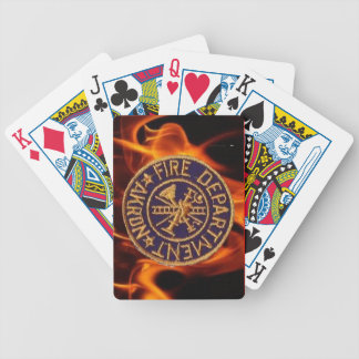 Akron Fire Department Playing Cards. Poker Cards