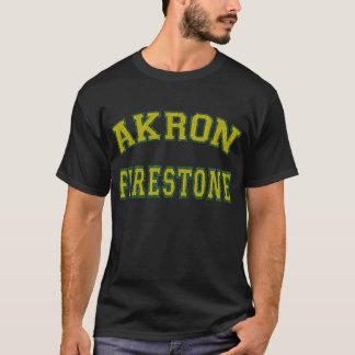 Akron Firestone T Shirt. T-Shirt