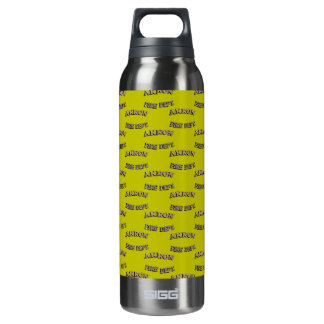 Akron Ohio Fire Department Bottle. 16 Oz Insulated SIGG Thermos Water Bottle