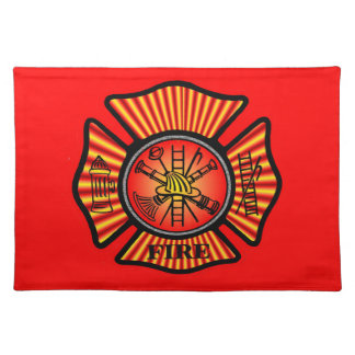 Akron Ohio Fire Department Placemats. Placemat