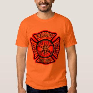 Akron Ohio Fire Department Shirt. Tee Shirt
