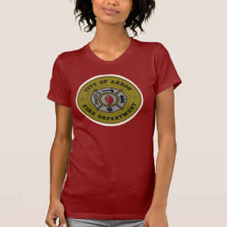 Akron Ohio Fire Department Shirt. Tee Shirts