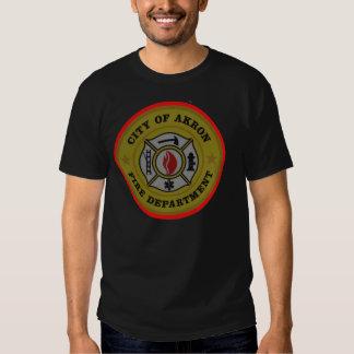 Akron Ohio Fire Department Shirt. Tshirts