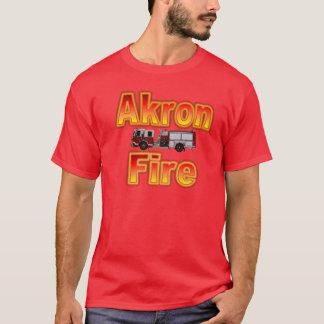 Akron Ohio Fire Department T Shirt. T-Shirt