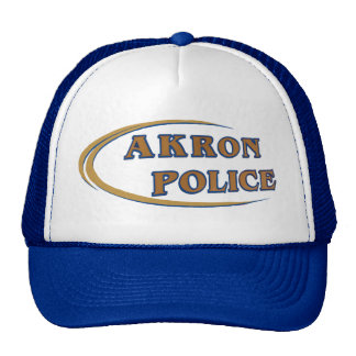 Akron Ohio Police Department Hat. Cap
