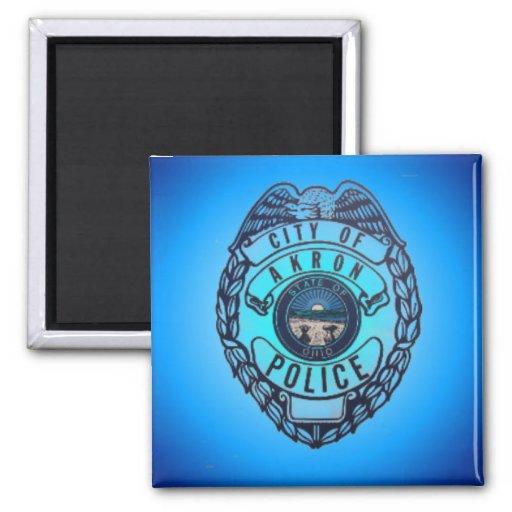 Akron Ohio Police Department Magnet