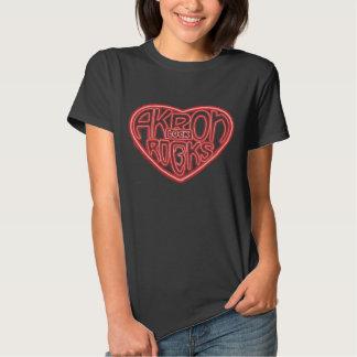 Akron Rocks Lock 3 Shirt. T Shirts