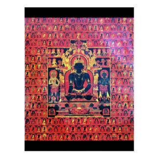 Akshobya Buddha Altar Card