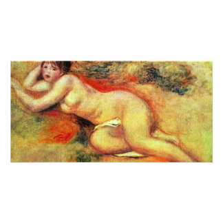 Akt By Pierre-Auguste Renoir (Best Quality) Picture Card