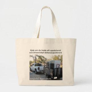 Äktenskapsförord Totebag Large Tote Bag
