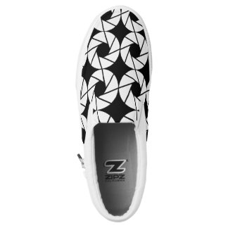 Aktina / Custom Zipz Slip On Shoes
