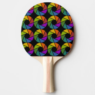 Aktina in colors/Ping Pong Paddle, Red Rubber Back Ping Pong Paddle