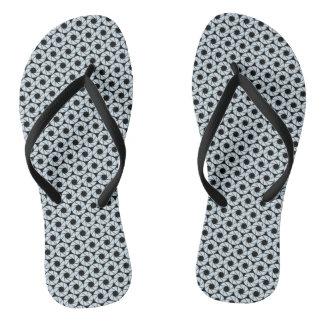 Aktina (pattern) / Flip Flops
