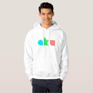 AKU Colour Logo White Hoodie Male