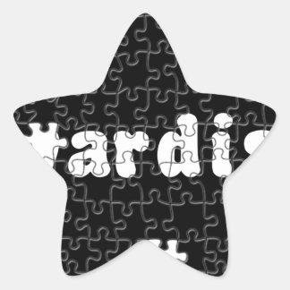 Akwardisms Star Sticker