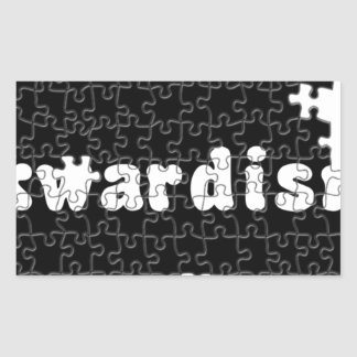 Akwardisms Rectangular Sticker