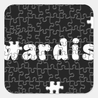 Akwardisms Square Sticker