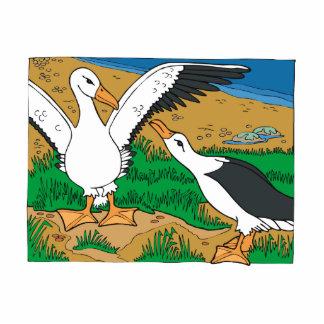 Al & Ally Albatross Standing Photo Sculpture